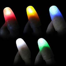 Light Up Thumbs 2pcs Funny Novelty Light Up Thumbs Led Light