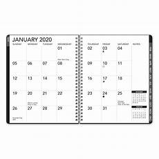 planners 2020 weekly avalon 2020 18 month weekly monthly tabbed large print