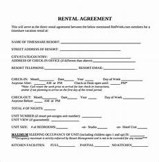 Free Rental Template Rental Agreement Template Ipasphoto