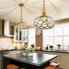En Lighting Dining Room Rural Bronzed Pendant Light Country House