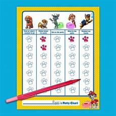 Free Printable Potty Chart Paw Patrol 17 Best Images About Paw Patrol On Pinterest Letter B