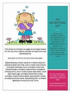 How To Make Babysitting Cards 10 Best Babysitting Flyer Template Images On Pinterest