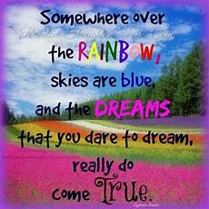 pin by diane on words to ponder rainbow sky