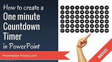 5 Minute Powerpoint Timer How To Create A One Minute Countdown Timer In Powerpoint