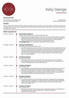 Resume Format Experienced Software Engineer Senior Software Engineer Resume Sample Kickresume