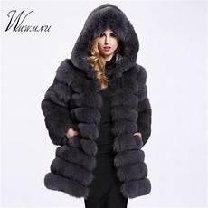 faux fox fur coat winter casual warm luxury