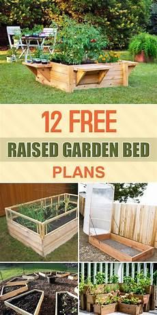 Free Gardening Plans 12 Free Raised Garden Bed Plans Raised Garden Bed Plans