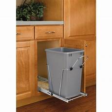 rev a shelf 35 quart plastic pull out trash can at lowes