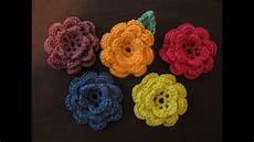 crochet flowers how to crochet a flower part 1