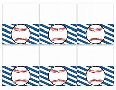 Baseball Template Baseball Place Card Holders Free Printable Paper Trail