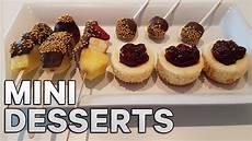 easy mini desserts treats