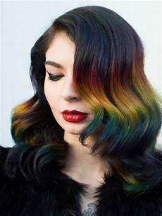 hair color rainbow ombr 233 hair color technique with roots