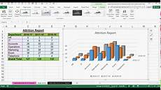 Column Chart Excel How To Create 3d Column Chart In Ms Office Excel 2016
