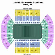 Byu Football Stadium Seating Chart Lavell Edwards Stadium Provo Tickets Schedule