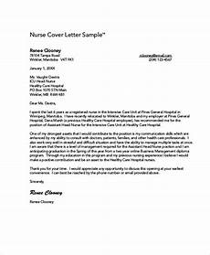 Entry Level Nursing Cover Letters Nursing Cover Letter Example 11 Free Word Pdf