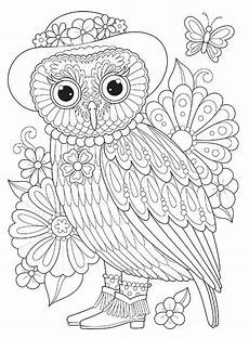 abstract owl coloring pages at getcolorings free