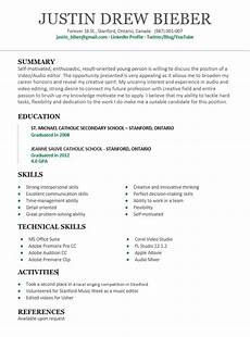 Write A Resume With No Experience Your First Resume With No Work Experience Guide Skillroads