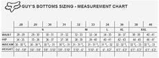 Fox Jeans Size Chart Fox Racing Swisha Fleece Pants Casual Rocky Mountain