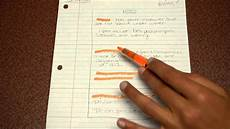 Cornell Notes Avid Avid Cornell Notes Youtube