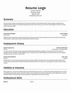 Generate A Resumes Free Resume Builder Resume Templates To Edit Amp Download