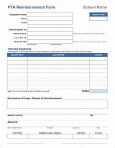 Reimbursment Form Free Expense Reimbursement Form Templates