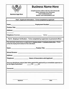 Proof Of Employment Templates 40 Proof Of Employment Letters Verification Forms Amp Samples