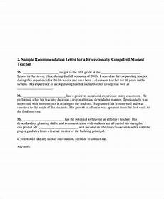 Recommendation Letter For Elementary Student From Teacher Free 52 Sample Student Letter Templates In Ms Word Pdf