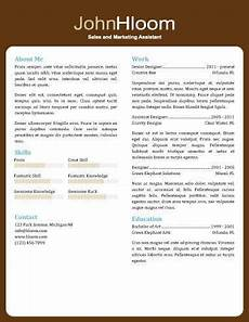 About Me Resumes 49 Creative Resume Templates Unique Non Traditional