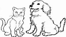 coloring pages how to draw a cat and easy zaman