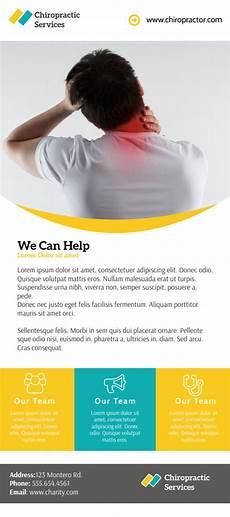 Chiropractic Flyers Professional Chiropractic Flyer Template Mycreativeshop