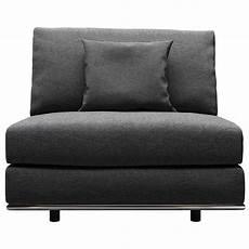 modern persis armless sofa chair zuri furniture