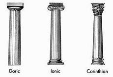 Column Types What Are The Three Types Of Greek Columns Quora