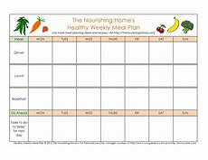 Menu Planner Template 40 Weekly Meal Planning Templates ᐅ Templatelab