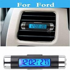 Fiesta St Led Interior Lights Car Led Digital Clock Thermometer Gauge Voltage Tester For