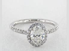 Oval Cut Engagement Rings   Jamesallen.com