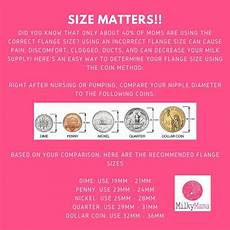 Breast Pump Size Chart How Do I Know What Size Flange To Use With My Breast Pump