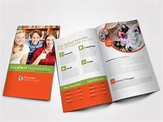 education bi fold business brochure brochure templates