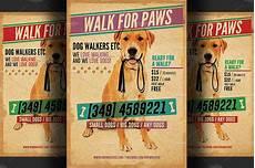Dog Walker Flyers Dog Walkers Flyer Template 2 Flyer Templates Creative