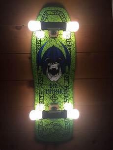 Skateboard Truck Light Fixture Ebay Seller Turns Skateboard Decks Into Wall Lamps