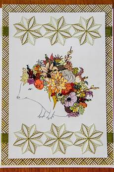 pin on embroidery on paper my work