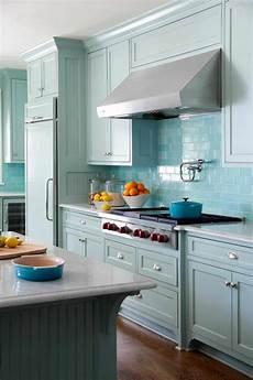 Light Blue Kitchen Tiles Retro Kitchen Ideas To Upgrade Your Current Kitchen