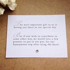 Wedding List Poems 65 X Wedding Poem Cards For Invitations Money Cash Gift