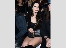 Lana Del Rey goes rock chick at Milan Fashion Week in over