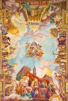 rome italy fresco triumphs of church the ottomans