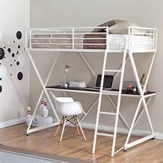duro z bunk bed loft with desk white bunk beds loft