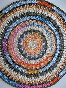 ramona rada daudzkrāsu mandala multi coloured crochet
