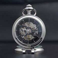 wohnaccessoires silber taschenuhr silber modern glasdeckel gentleman accessoires