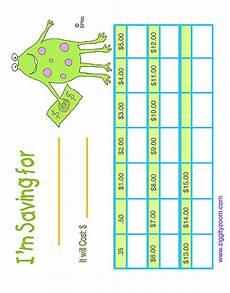 Savings Goal Chart Saving Chart For Kids Savings Chart Charts For Kids