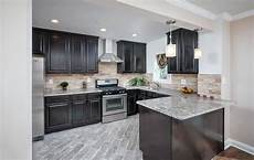 Dark Kitchen Cabinets With Light Floors 27 Small Kitchens With Dark Cabinets Design Ideas