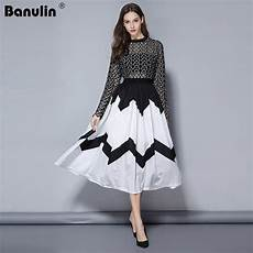 2019 Fashion Designers Banulin 2019 Fashion Designer Runway Midi Dress Summer